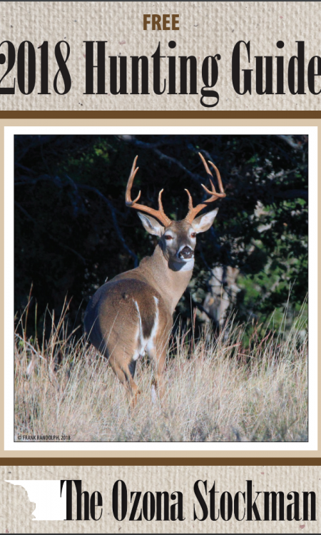 The Ozona Hunting Guide